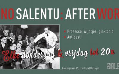 Elke donderdag & Vrijdag AFTERWORK @ Vino Salentu